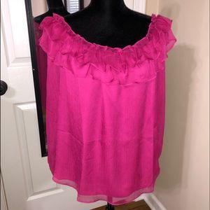 Vince Camuto Off the Shoulder Blouse XL
